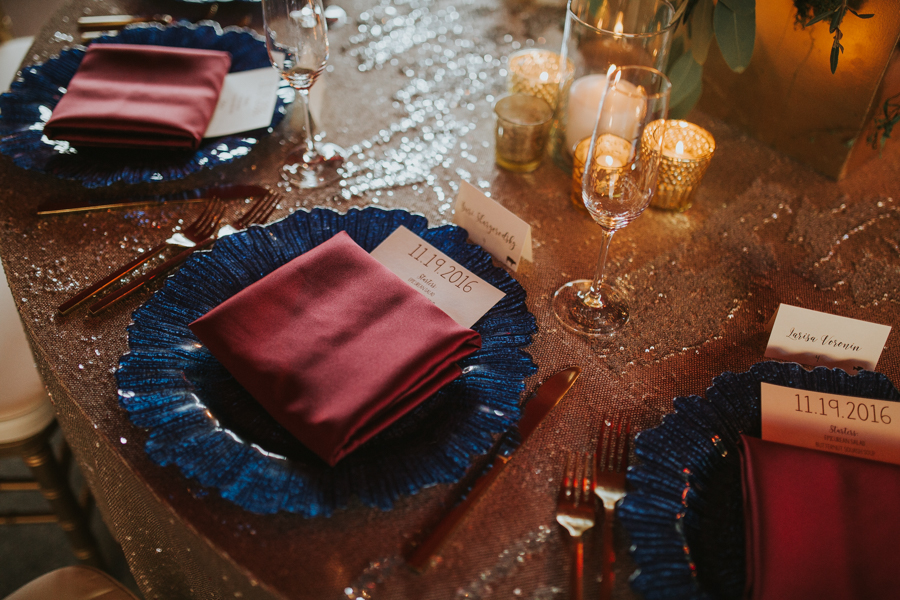 Loren and Alex Kuznetsov Gold and Burgundy wedding at Epicurean Tampa Royal Fall Wedding in Tampa Florida Inside Weddings MD Events Tampa-96.jpg