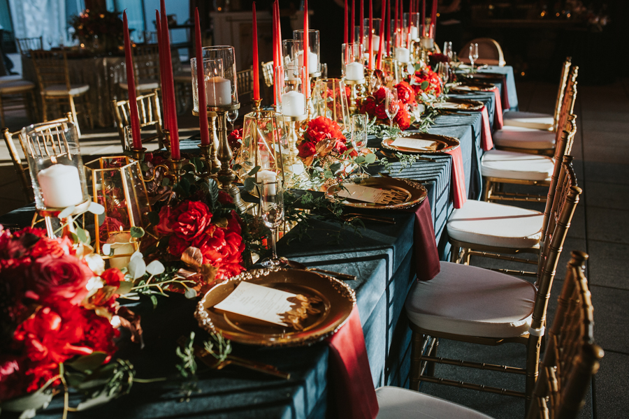 Loren and Alex Kuznetsov Gold and Burgundy wedding at Epicurean Tampa Royal Fall Wedding in Tampa Florida Inside Weddings MD Events Tampa-98.jpg