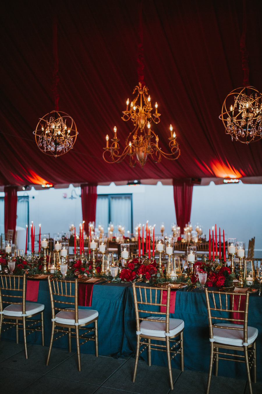 Loren and Alex Kuznetsov Gold and Burgundy wedding at Epicurean Tampa Royal Fall Wedding in Tampa Florida Inside Weddings MD Events Tampa-120.jpg