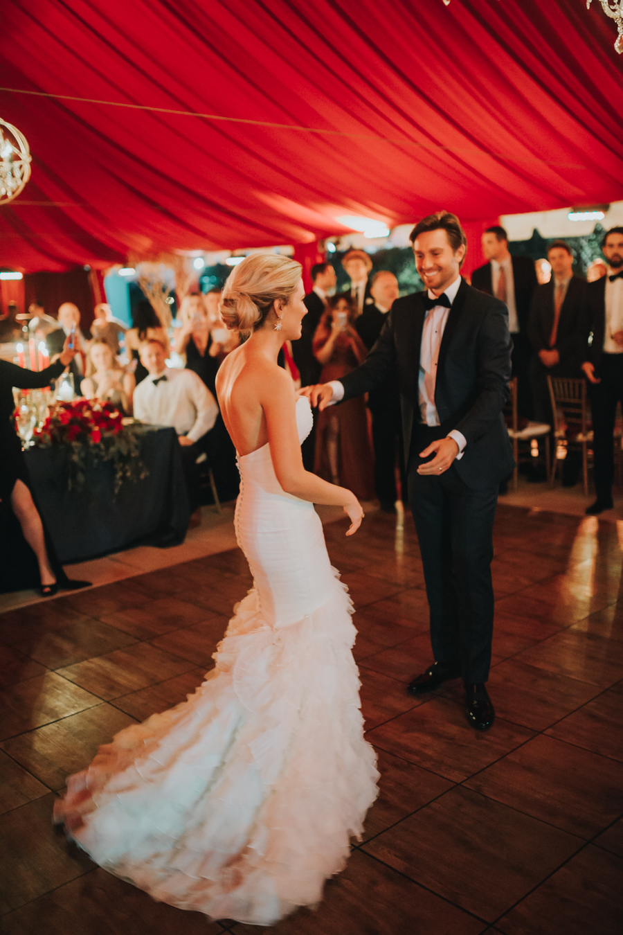 Loren and Alex Kuznetsov Gold and Burgundy wedding at Epicurean Tampa Royal Fall Wedding in Tampa Florida Inside Weddings MD Events Tampa-136.jpg