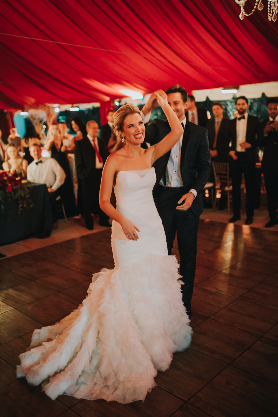 Loren and Alex Kuznetsov Gold and Burgundy wedding at Epicurean Tampa Royal Fall Wedding in Tampa Florida Inside Weddings MD Events Tampa-137.jpg