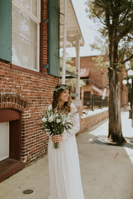 Ybor Tampa Industrial Bohemian CL Space Wedding Florist Fire Ashley McBride Events Engine 53 Pizza Truck  -7.jpg