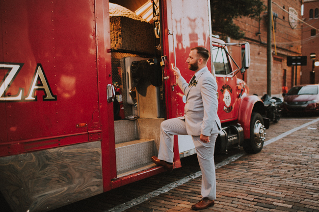 Ybor Tampa Industrial Bohemian CL Space Wedding Florist Fire Ashley McBride Events Engine 53 Pizza Truck  -178.jpg