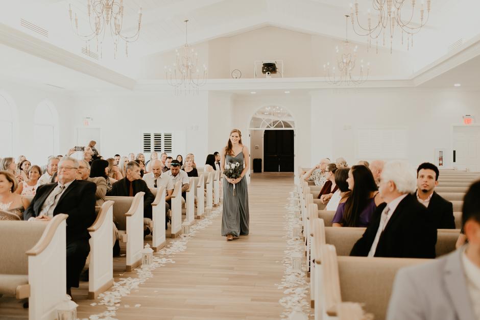 Harborside Chapel Wedding Palm Harbor Hall Bohemian Dusty Steel Blue Clearwater Tampa Wedding Photographer BHLDN Willowwby Thistle Gown White Magnolia Bridal -76.jpg