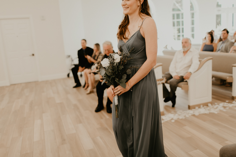 Harborside Chapel Wedding Palm Harbor Hall Bohemian Dusty Steel Blue Clearwater Tampa Wedding Photographer BHLDN Willowwby Thistle Gown White Magnolia Bridal -77.jpg
