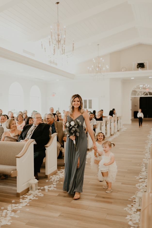 Harborside Chapel Wedding Palm Harbor Hall Bohemian Dusty Steel Blue Clearwater Tampa Wedding Photographer BHLDN Willowwby Thistle Gown White Magnolia Bridal -80.jpg