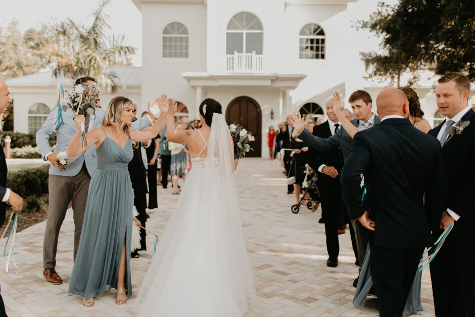 Harborside Chapel Wedding Palm Harbor Hall Bohemian Dusty Steel Blue Clearwater Tampa Wedding Photographer BHLDN Willowwby Thistle Gown White Magnolia Bridal -109.jpg
