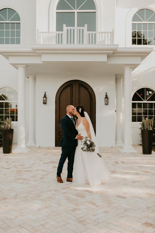 Harborside Chapel Wedding Palm Harbor Hall Bohemian Dusty Steel Blue Clearwater Tampa Wedding Photographer BHLDN Willowwby Thistle Gown White Magnolia Bridal -118.jpg