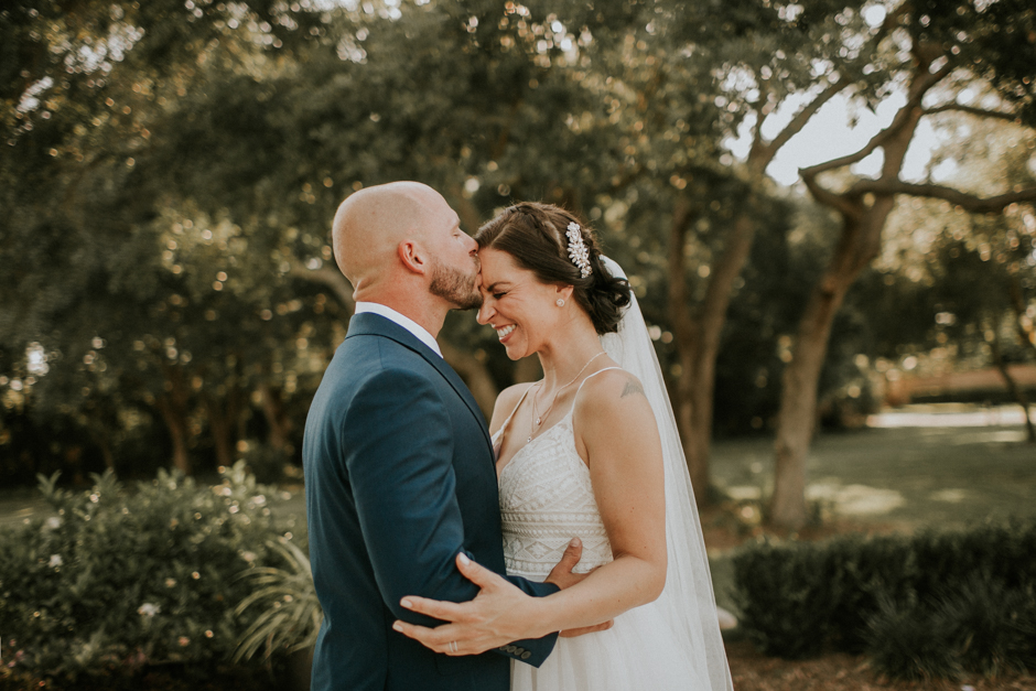 Harborside Chapel Wedding Palm Harbor Hall Bohemian Dusty Steel Blue Clearwater Tampa Wedding Photographer BHLDN Willowwby Thistle Gown White Magnolia Bridal -123.jpg