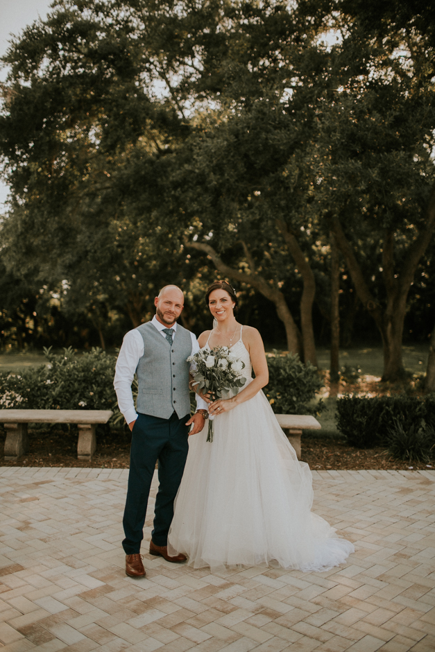 Harborside Chapel Wedding Palm Harbor Hall Bohemian Dusty Steel Blue Clearwater Tampa Wedding Photographer BHLDN Willowwby Thistle Gown White Magnolia Bridal -125.jpg
