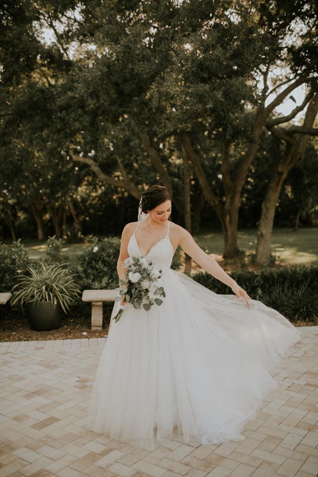 Harborside Chapel Wedding Palm Harbor Hall Bohemian Dusty Steel Blue Clearwater Tampa Wedding Photographer BHLDN Willowwby Thistle Gown White Magnolia Bridal -127.jpg