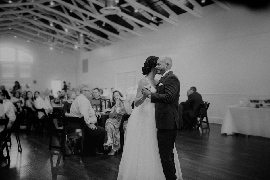 Harborside Chapel Wedding Palm Harbor Hall Bohemian Dusty Steel Blue Clearwater Tampa Wedding Photographer BHLDN Willowwby Thistle Gown White Magnolia Bridal -140.jpg