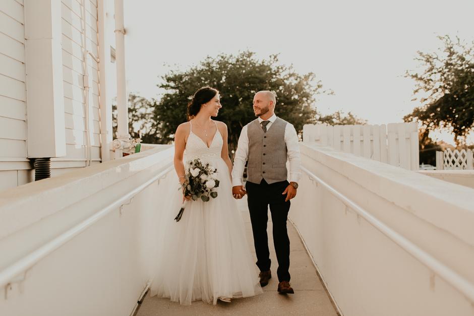 Harborside Chapel Wedding Palm Harbor Hall Bohemian Dusty Steel Blue Clearwater Tampa Wedding Photographer BHLDN Willowwby Thistle Gown White Magnolia Bridal -145.jpg