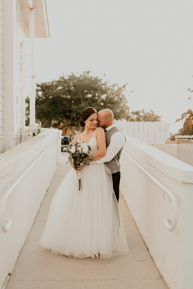 Harborside Chapel Wedding Palm Harbor Hall Bohemian Dusty Steel Blue Clearwater Tampa Wedding Photographer BHLDN Willowwby Thistle Gown White Magnolia Bridal -148.jpg