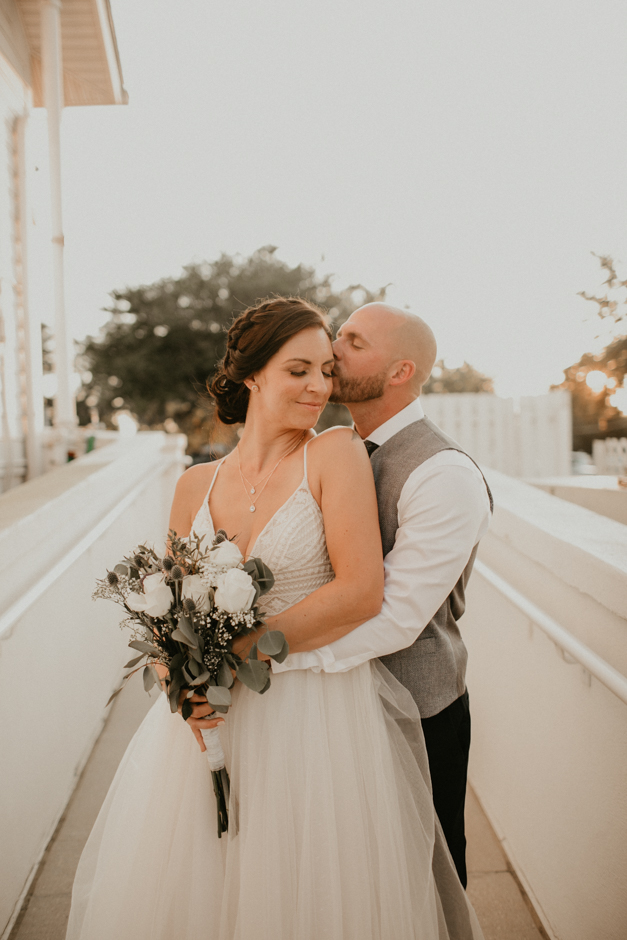 Harborside Chapel Wedding Palm Harbor Hall Bohemian Dusty Steel Blue Clearwater Tampa Wedding Photographer BHLDN Willowwby Thistle Gown White Magnolia Bridal -149.jpg