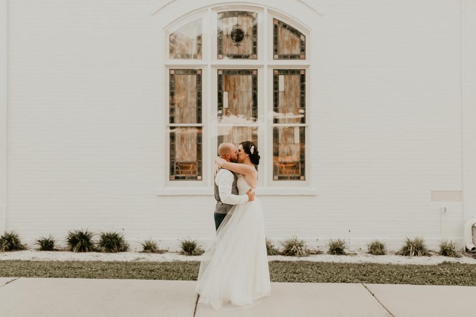 Harborside Chapel Wedding Palm Harbor Hall Bohemian Dusty Steel Blue Clearwater Tampa Wedding Photographer BHLDN Willowwby Thistle Gown White Magnolia Bridal -150.jpg