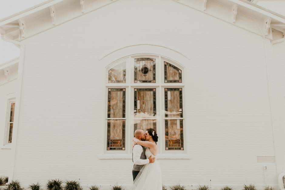Harborside Chapel Wedding Palm Harbor Hall Bohemian Dusty Steel Blue Clearwater Tampa Wedding Photographer BHLDN Willowwby Thistle Gown White Magnolia Bridal -151.jpg