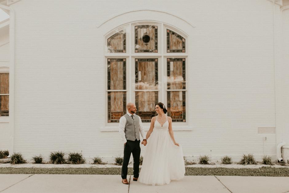 Harborside Chapel Wedding Palm Harbor Hall Bohemian Dusty Steel Blue Clearwater Tampa Wedding Photographer BHLDN Willowwby Thistle Gown White Magnolia Bridal -155.jpg