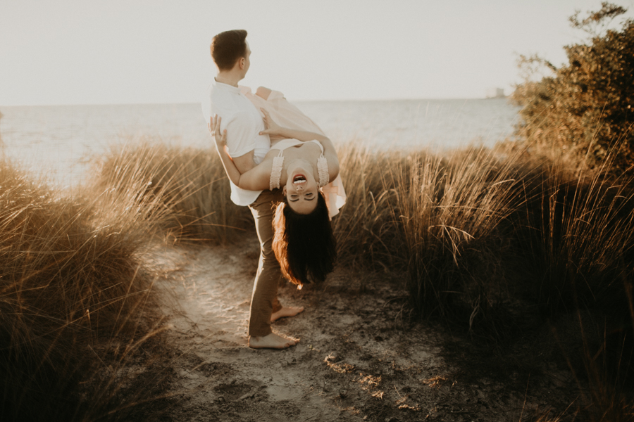 Moody Tampa Engagement Session Natural Tampa Wedding Photographer Tampa Elopement Photographer Beach Engagement Session Cypress Point Park Engagement Session-32.jpg
