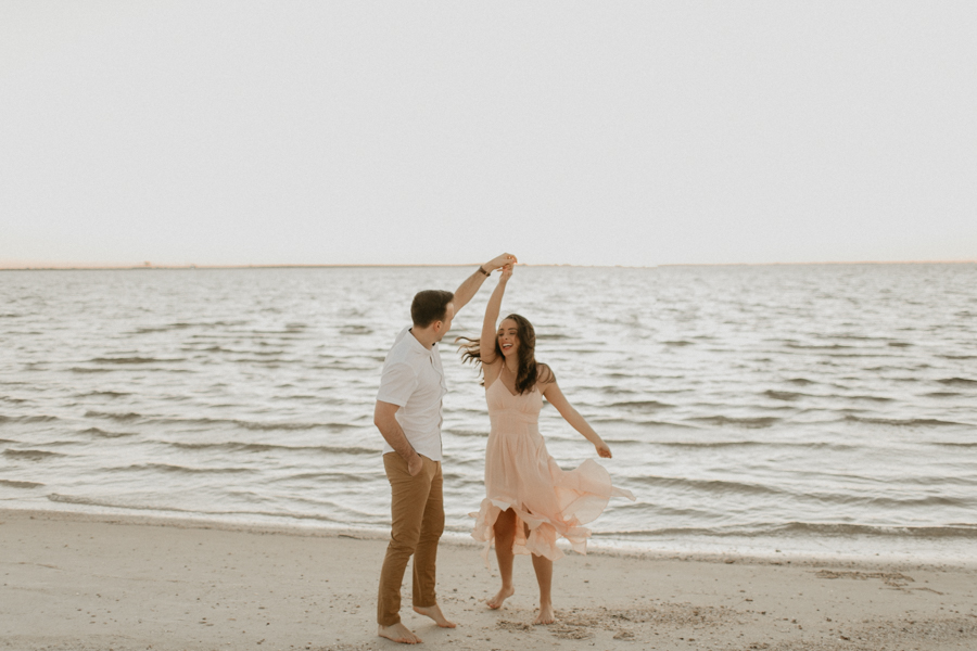 Moody Tampa Engagement Session Natural Tampa Wedding Photographer Tampa Elopement Photographer Beach Engagement Session Cypress Point Park Engagement Session-49.jpg