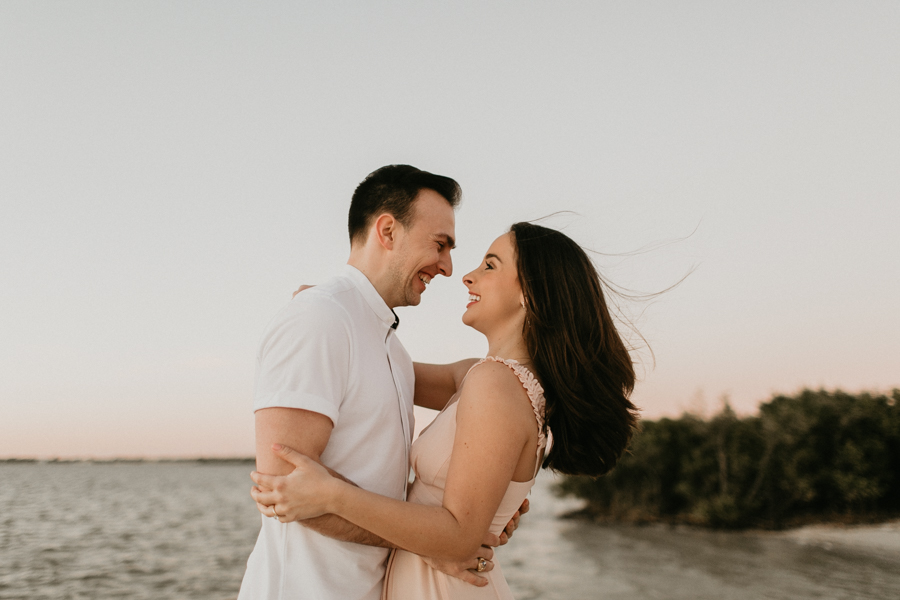 Moody Tampa Engagement Session Natural Tampa Wedding Photographer Tampa Elopement Photographer Beach Engagement Session Cypress Point Park Engagement Session-55.jpg