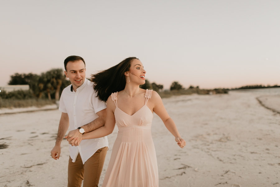 Moody Tampa Engagement Session Natural Tampa Wedding Photographer Tampa Elopement Photographer Beach Engagement Session Cypress Point Park Engagement Session-62.jpg