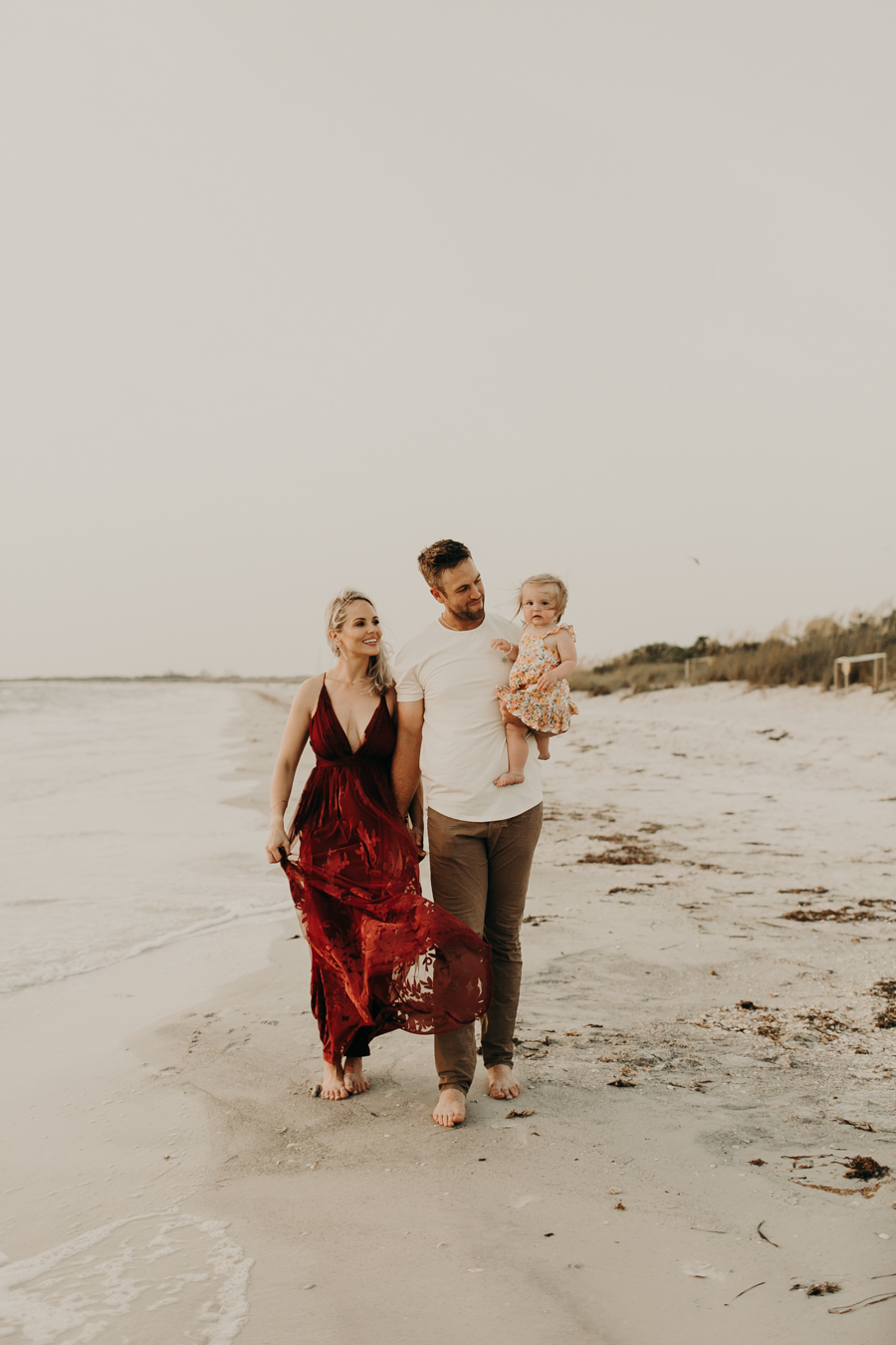 Jason and Kelsey Adam Toronto Blue Jays Tampa Family Photographer Fort Desoto Family Session St Pete Family Photographer Clearwater Beach Photographer St Pete Beach Photographer Tampa Florida Photographer -39.jpg