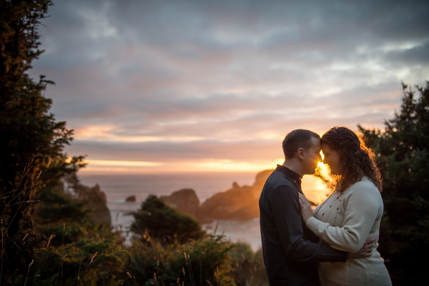 Ecola State Park Engagement Session, Cannon Beach, OR