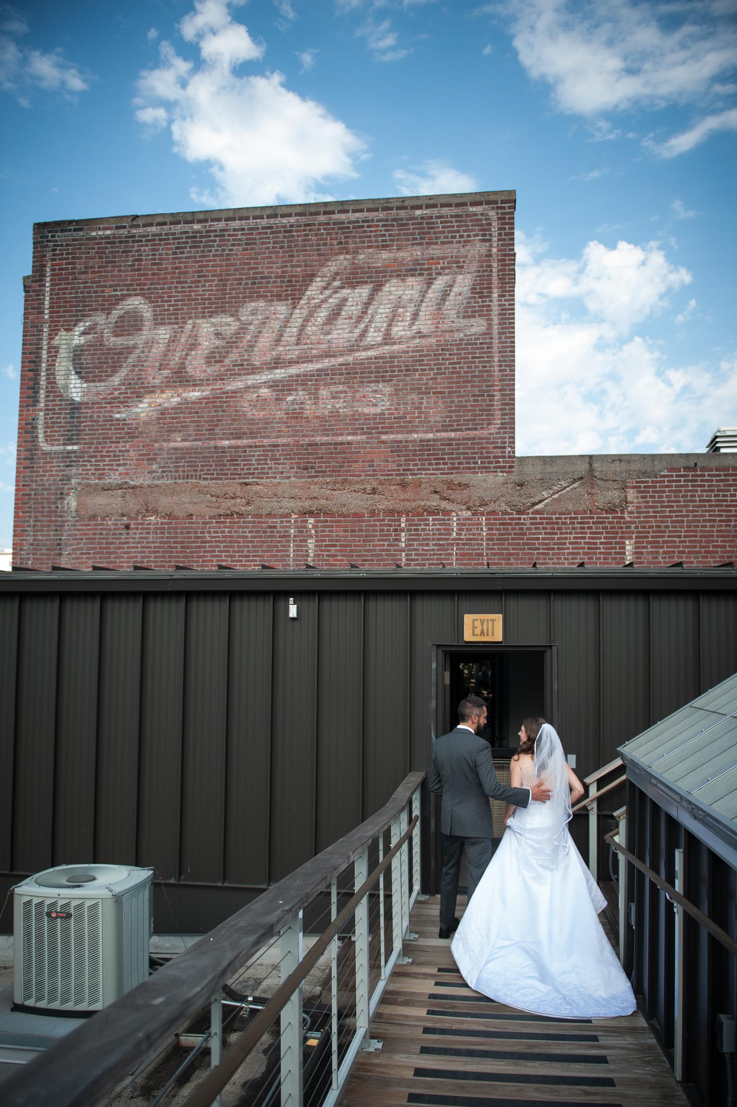 DeSoto Rooftop Wedding Ceremony, Portland, OR
