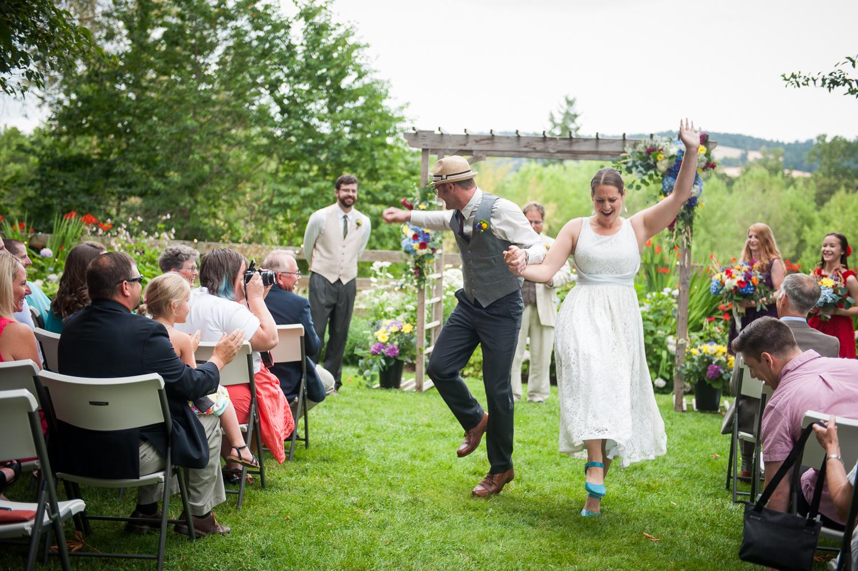 Newell Pioneer Village Wedding Ceremony, St. Paul, OR