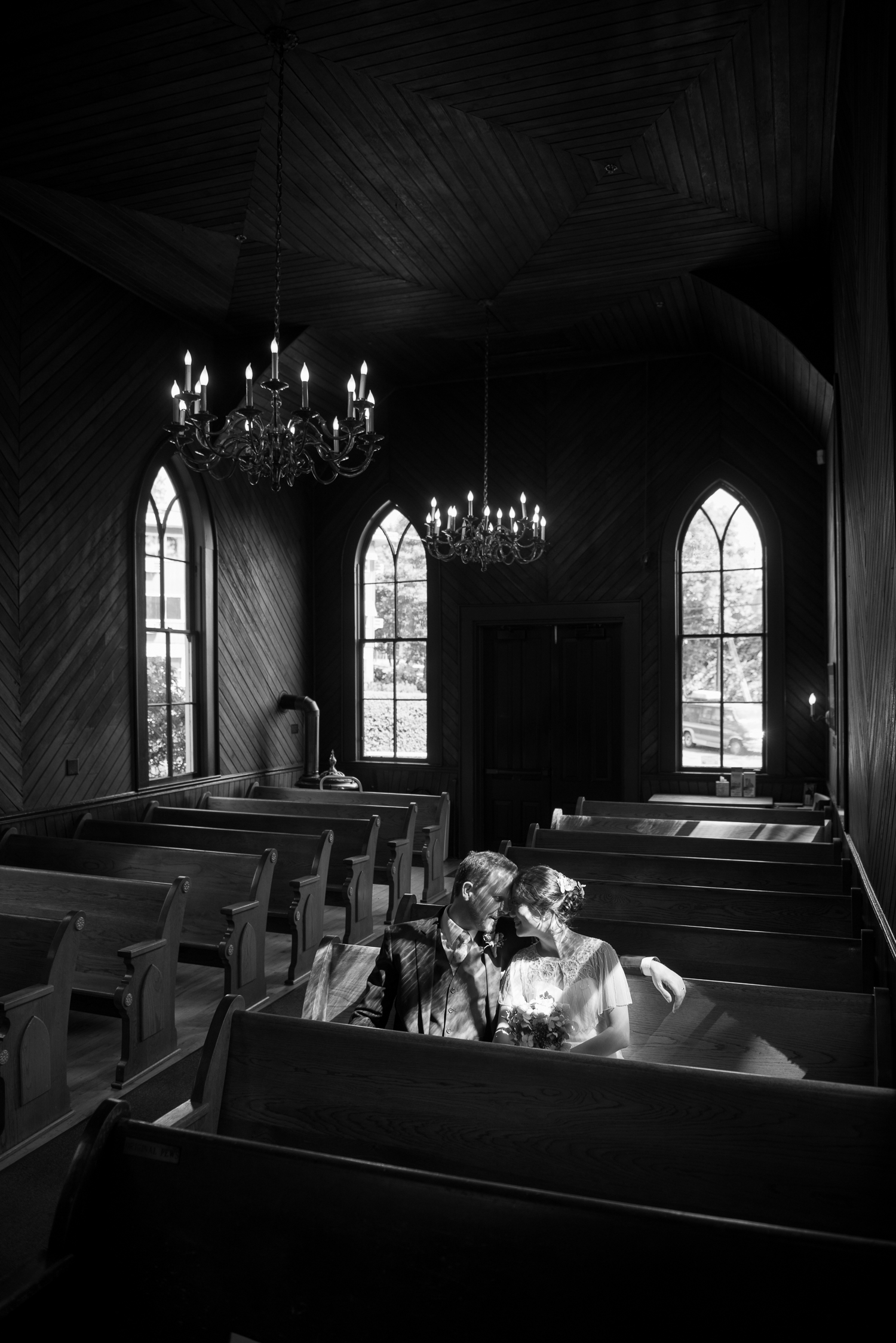 Oaks Pioneer Church Wedding, Portland, OR
