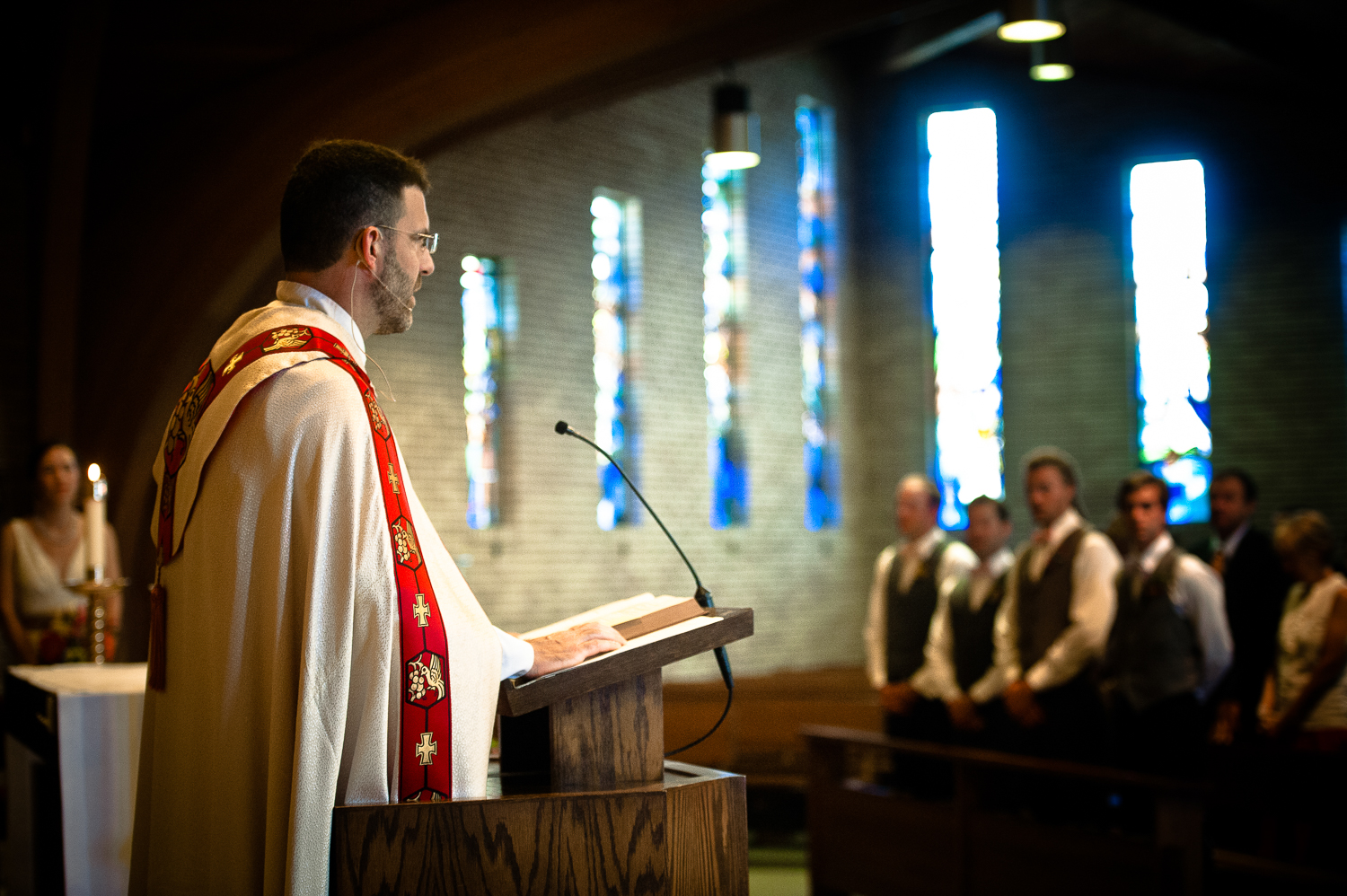 St. Albert's Church Wedding Ceremony in Minneapolis, MN