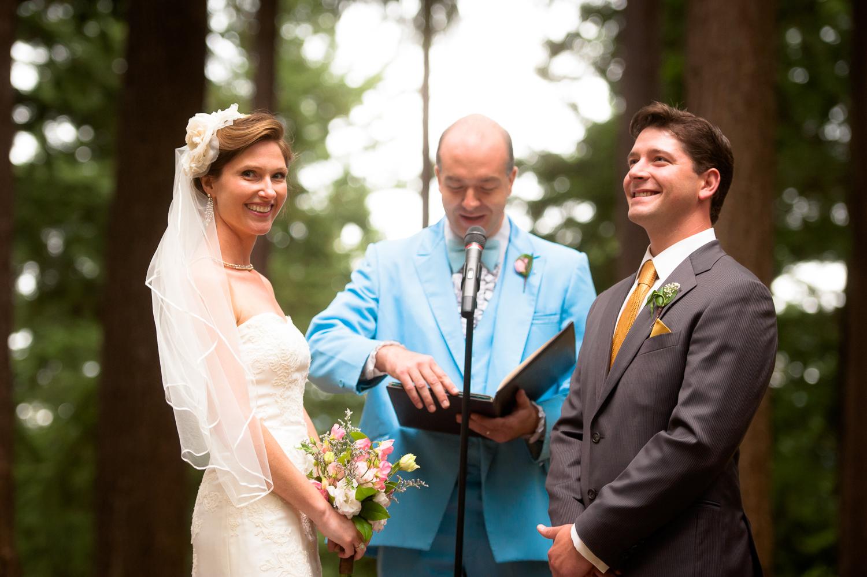 Mt. Tabor Wedding Ceremony, Portland, OR