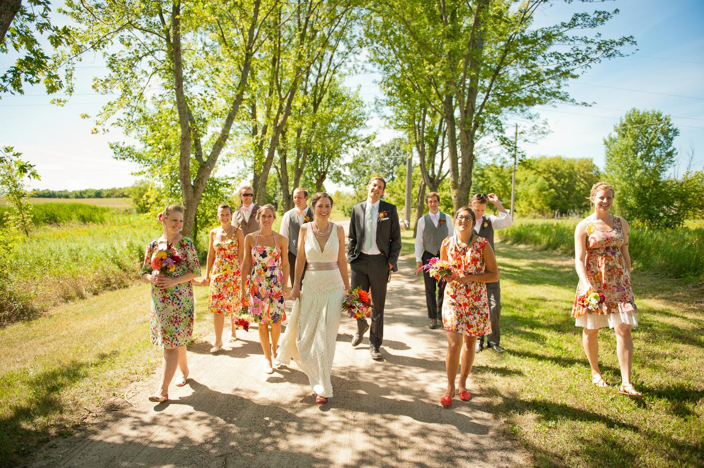 Farmhouse Wedding, Minneapolis, MN