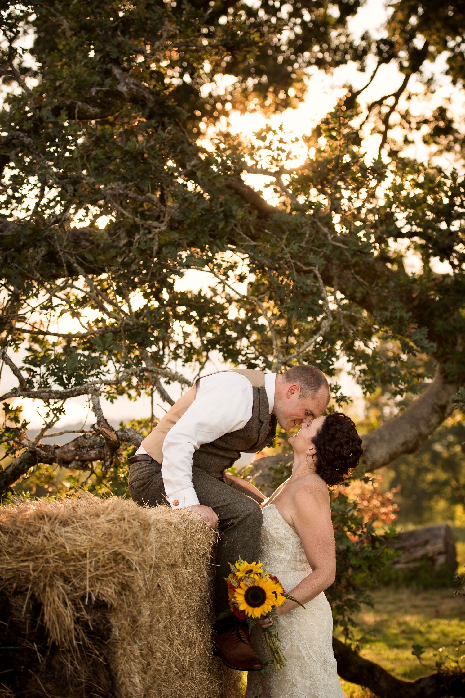 Sauvie Island Farm Wedding, Portland, OR
