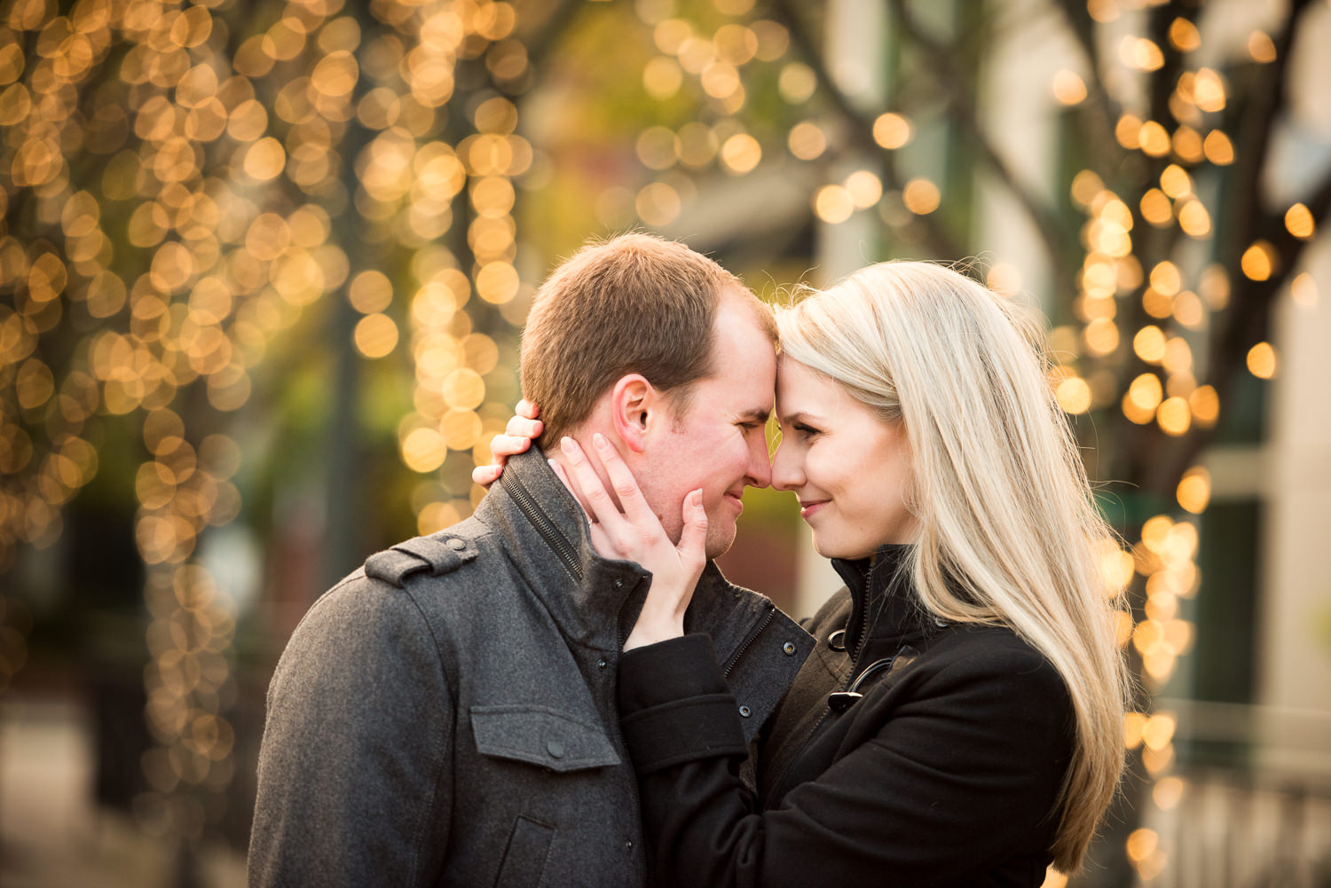 Jamison Square Engagement Session, Portland, OR
