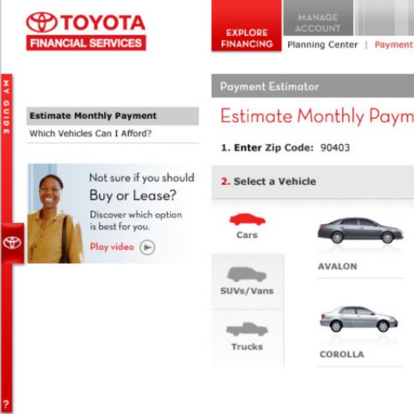 Toyota Financial Payment >> Toyota Financial Services Videos Emfatik Content