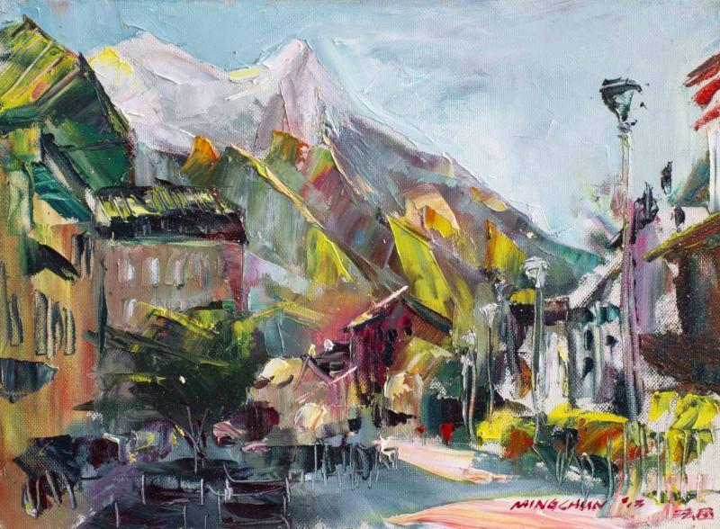 夏慕尼之城 City of Chamonix