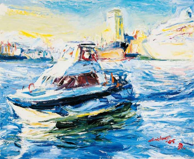 基隆港 Kee Lung Harbor