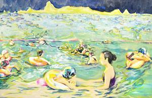 游泳與海  Swimming And Sea