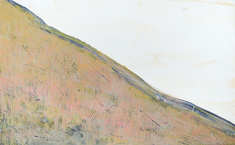 粉紅色山坡 Pink Hillside