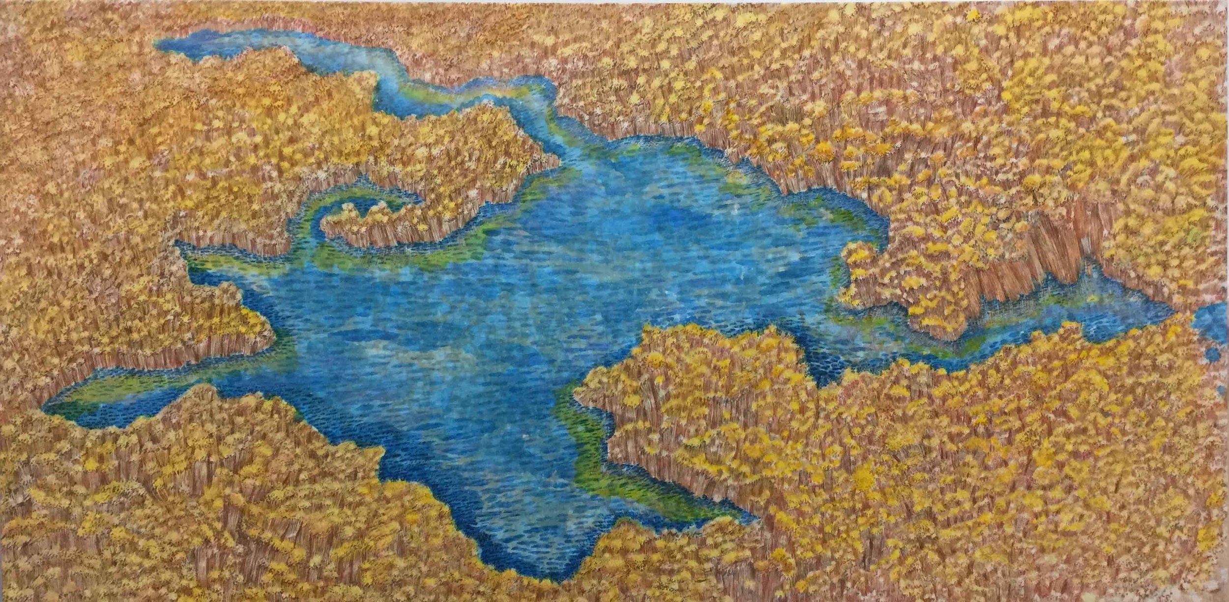 心之印象三:心湖 The Heart Impression III: The Lake of Heart