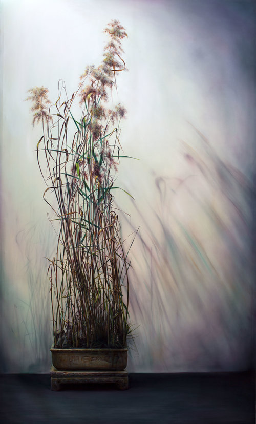 瑟瑟秋日 Whispers of Autumn  260 x 160 cm 油彩畫布 Oil on Canvas 2017