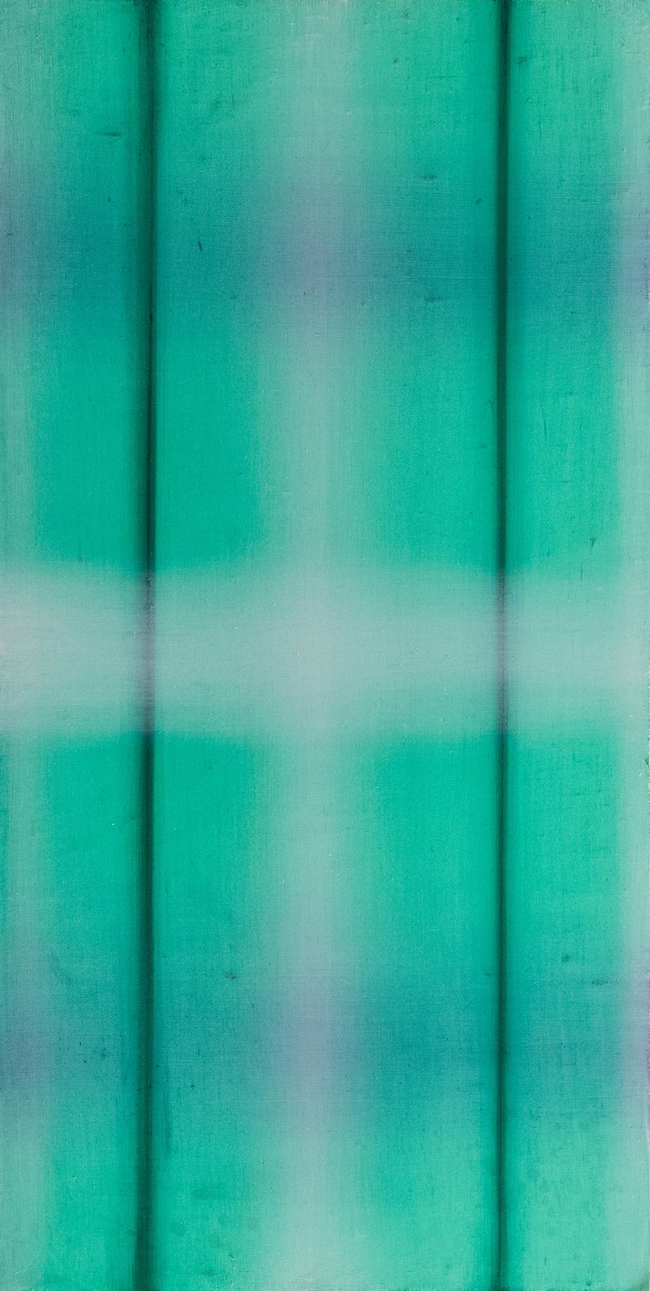 光線4號 Light beaM 4  43 x 22 cm 油彩畫布 Oil on Canvas 2017