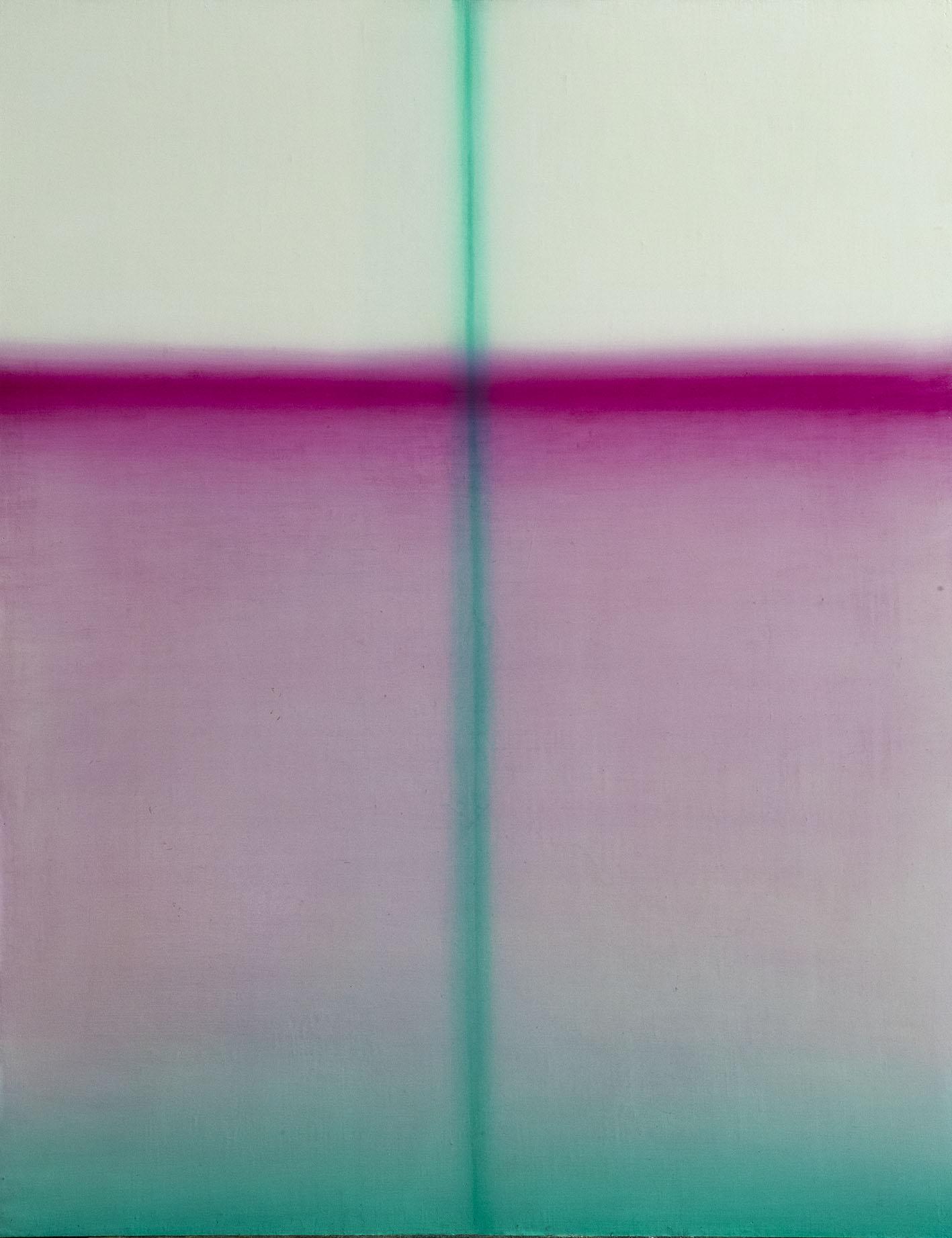 光線2號 Light beam 2  90.5 x 71.5 cm 油彩畫布 Oil on Canvas 2017