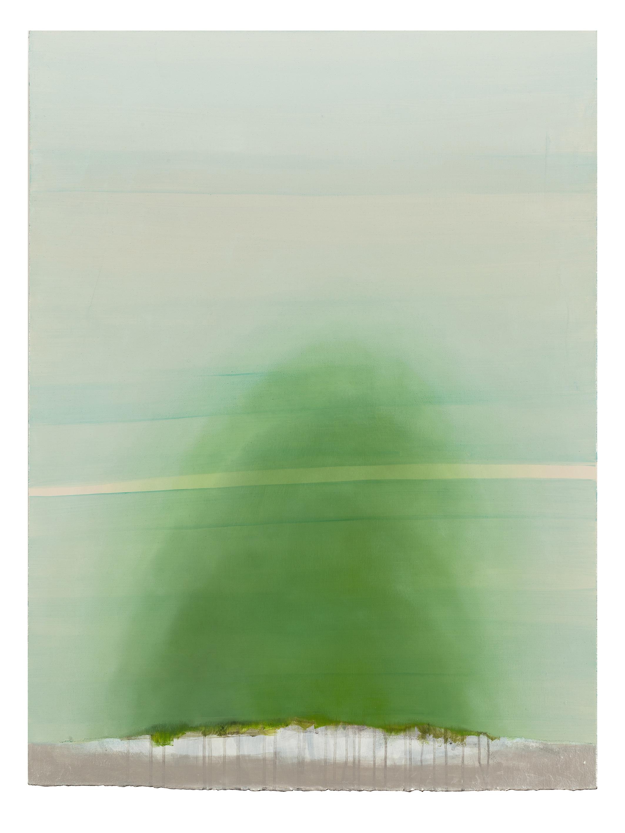 黃淼訓《風景 Landscape》油彩丙烯 Oil/Acrylic on canvas 110x90 cm 2018