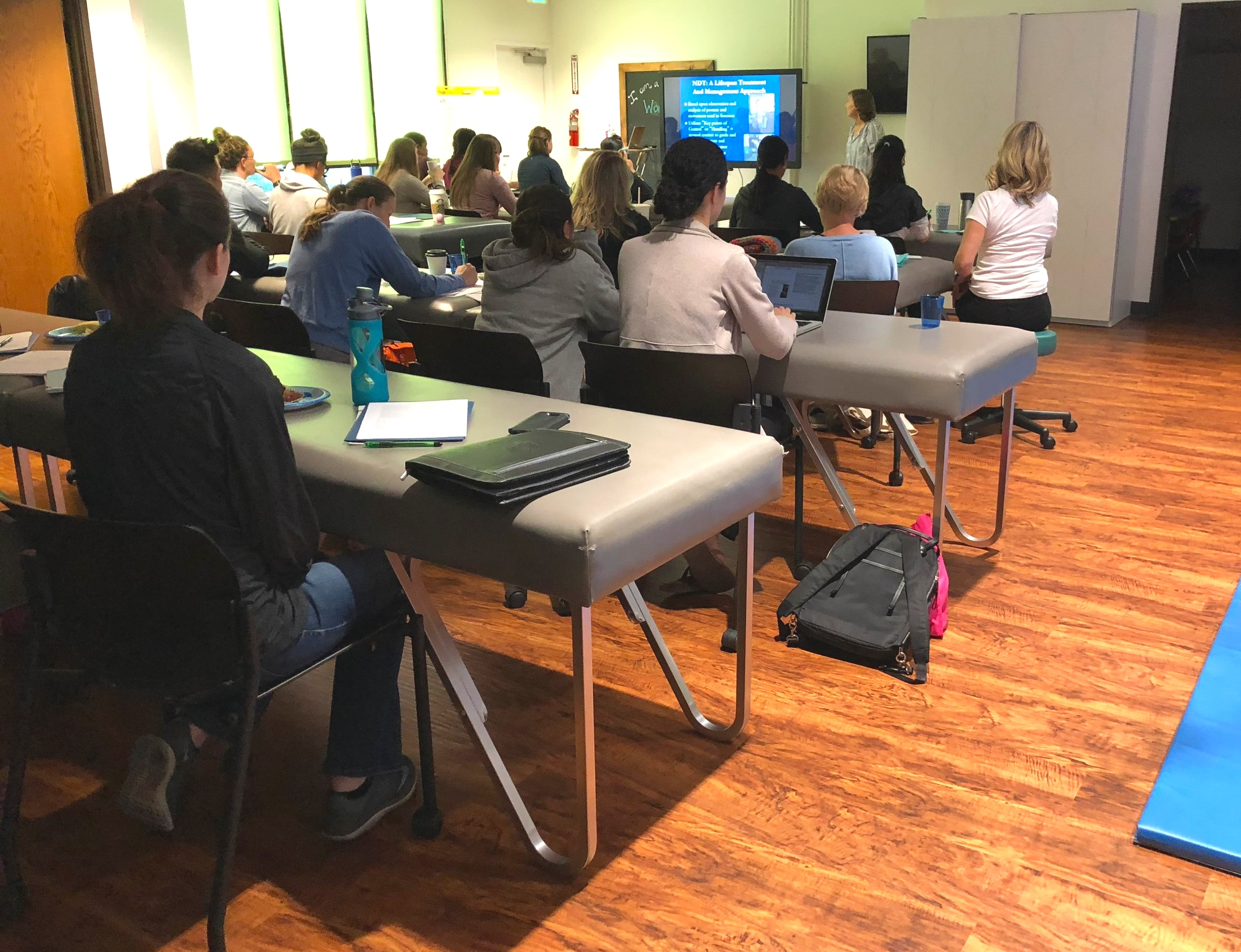 WonderLab was able to host their first course for practicing therapists October 2018.