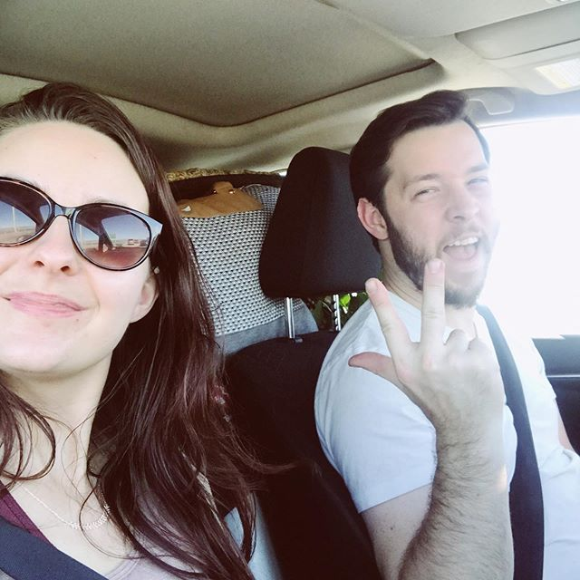 It's time for our epic cross-country road trip as our band transitions from life on the best coast to life on the right coast! Follow the adventures in our stories!  #roadtrip #westcoastbestcoast #newadventures