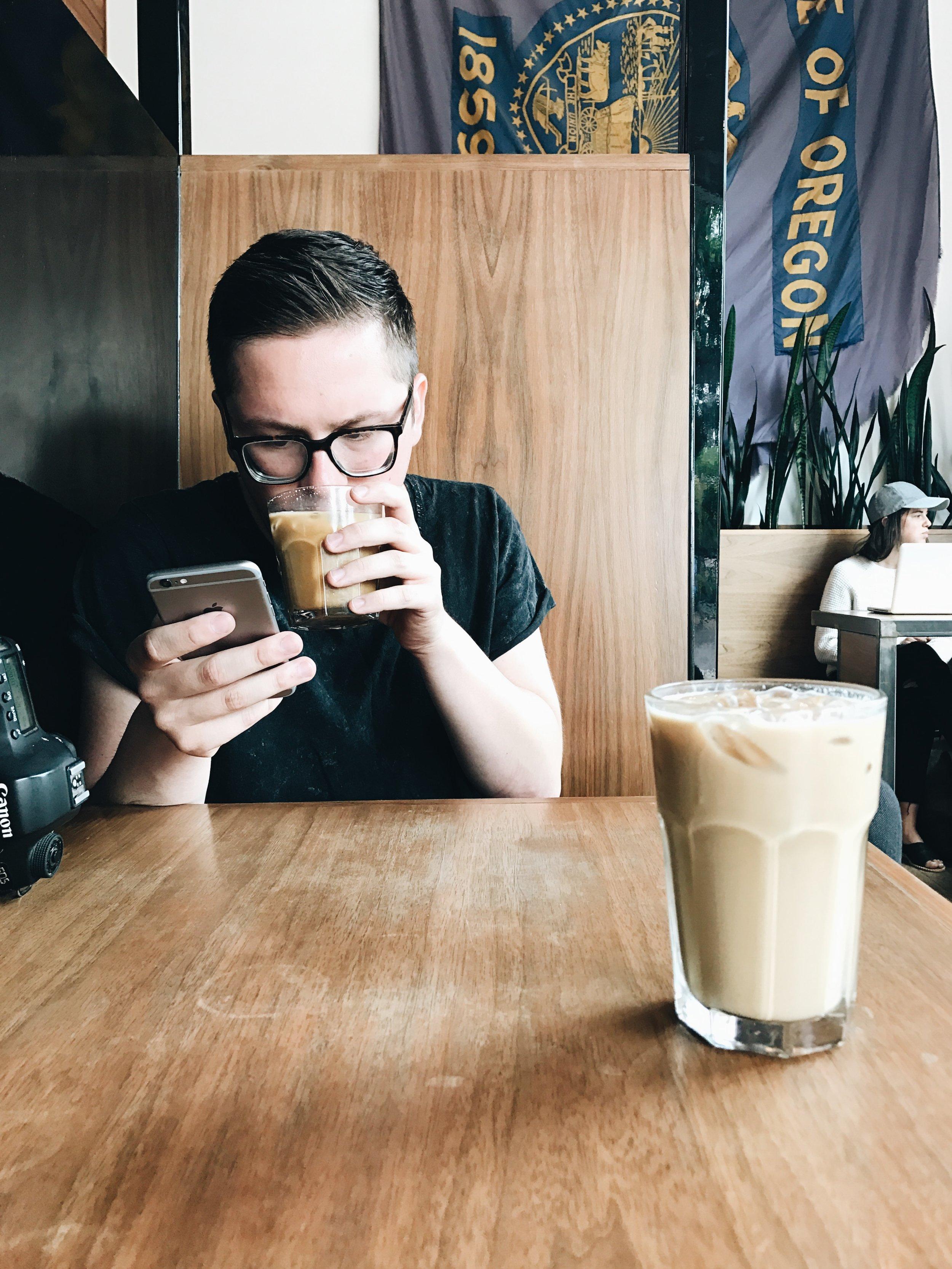 Good Coffee. Portland, Oregon.
