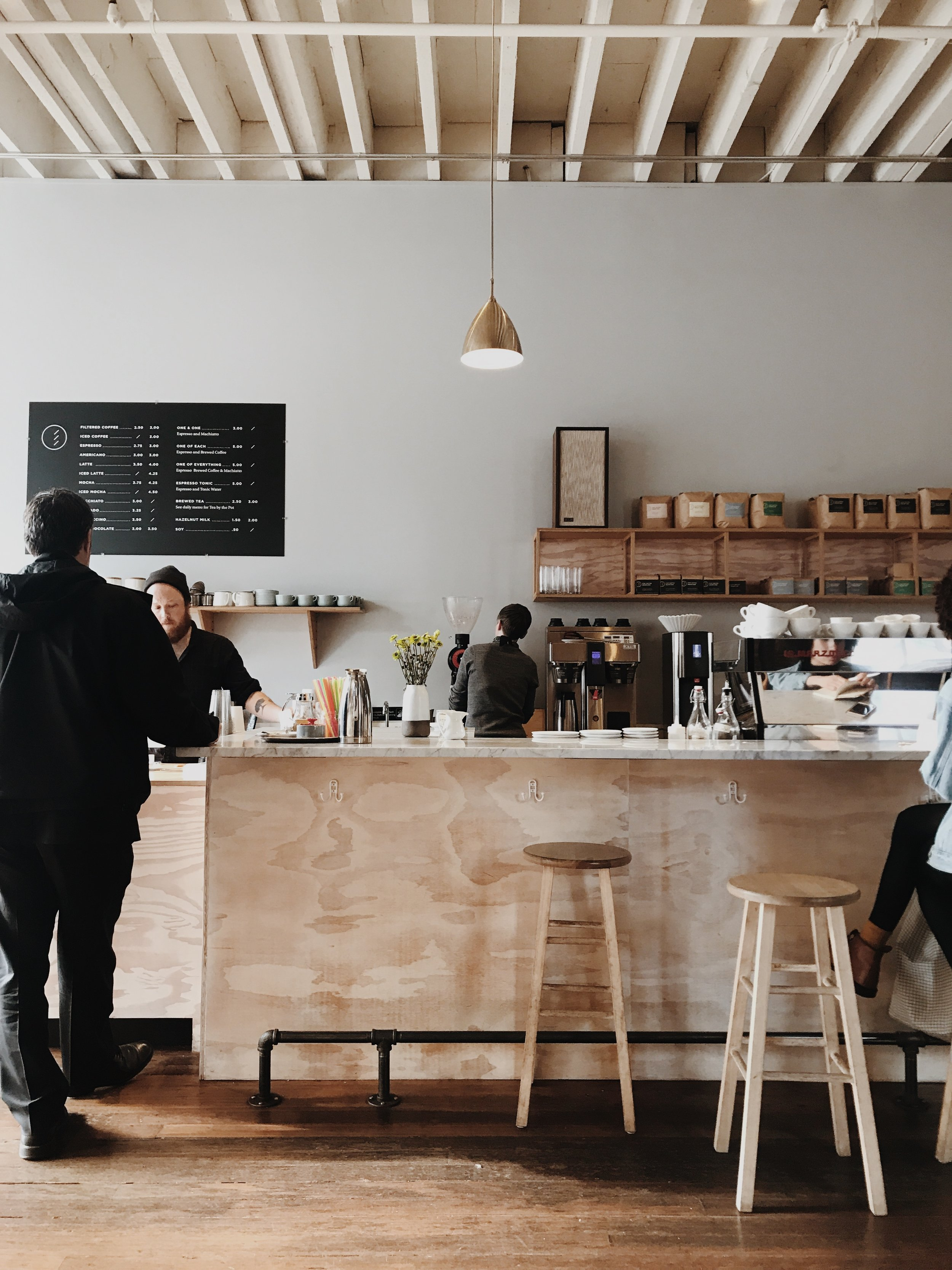 Elm Coffee Roasters. Seattle, Washington.